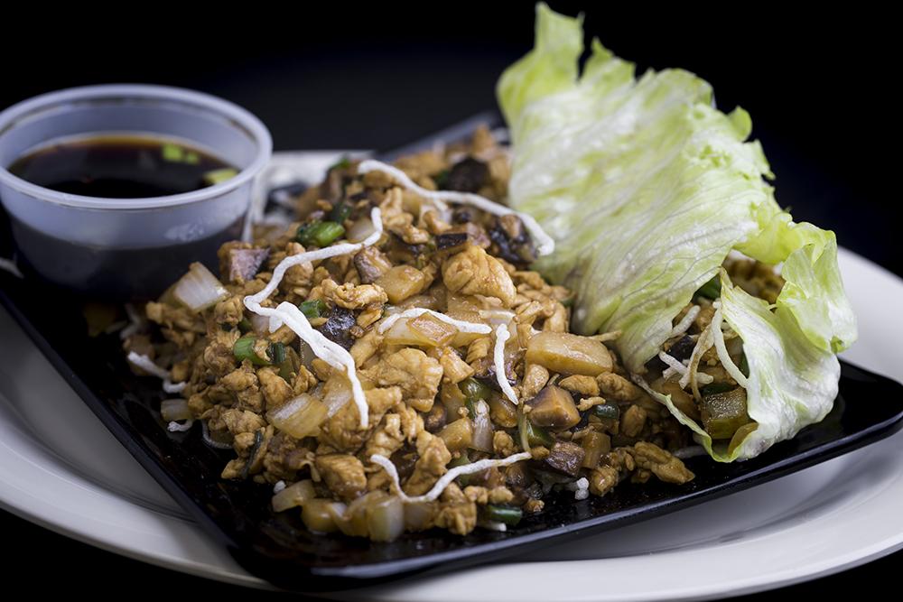 chicken-lettuce-wrap
